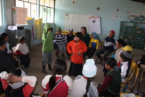 Kids in the Andes