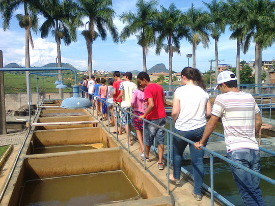 Visit to Muriaes biggest Water Treatment Station