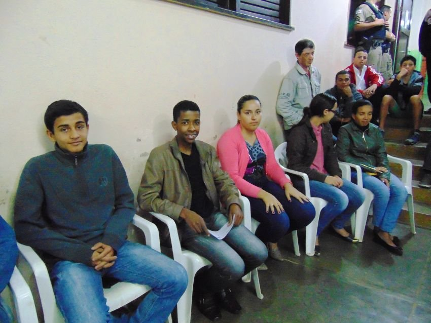 Young Eco-Leaders participating in the meeting