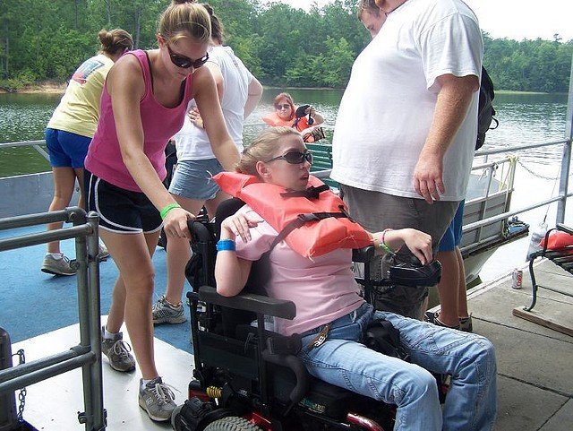 Camps for adults with disabilities