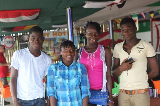 4 Ebola Orphans