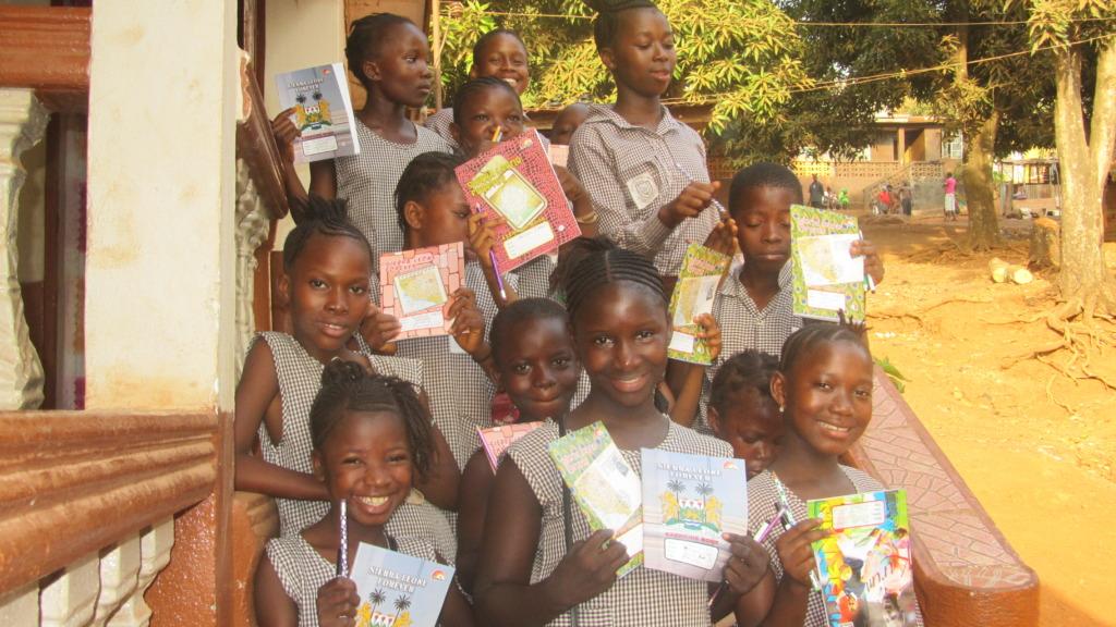 The Dream Home kids love getting supplies