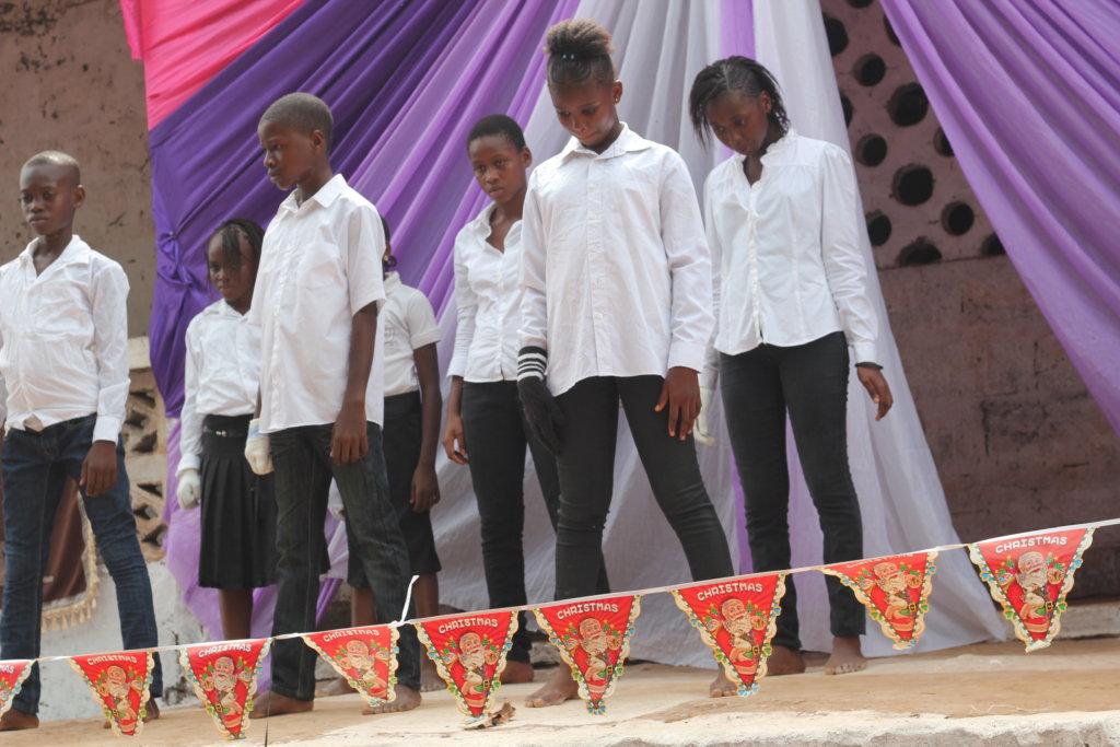 Dream Home kids take part in school program