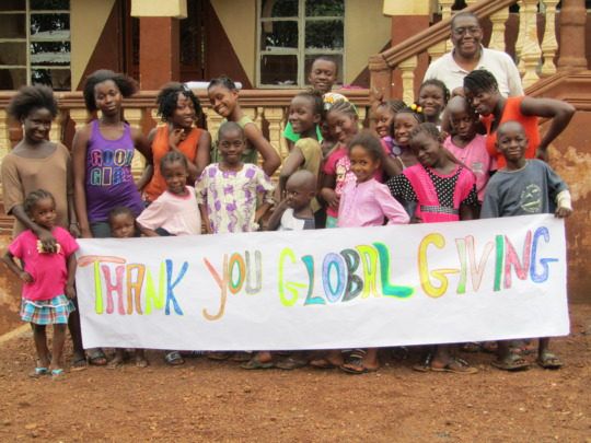 Dream Home children say Thank you GlobalGiving!