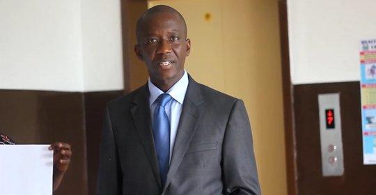 Dr. Fofanah - Minister of Health and Sanitation