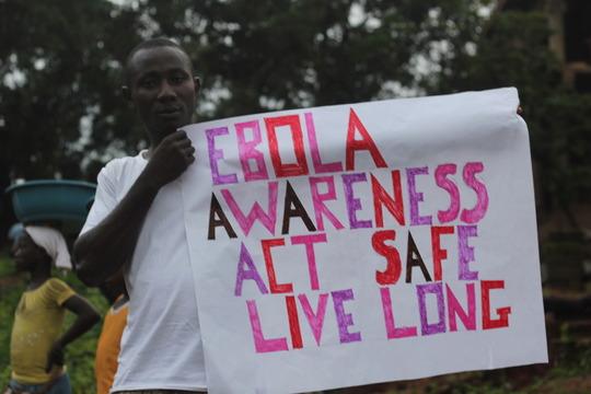 Ebola awareness poster