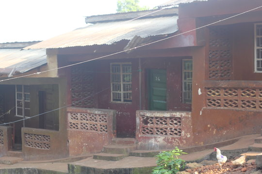 front view - orphanage building