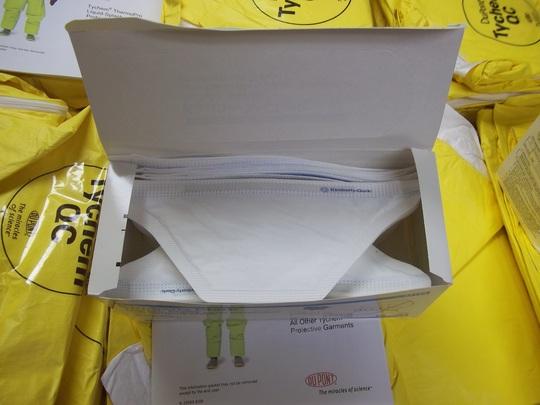 N95 particulate filter respirator & surgical masks