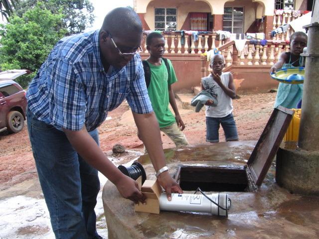 water pump at Dream Home