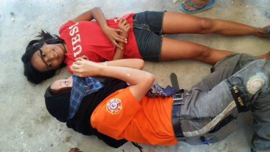 Disaster conciousness training for children