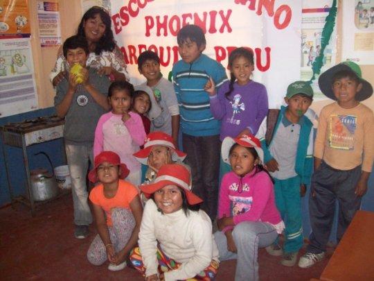 Education & nutrition for 60 children in Peru