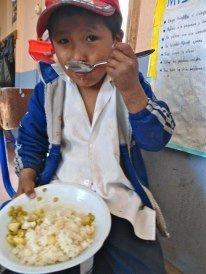 Scrummy food in Peru!