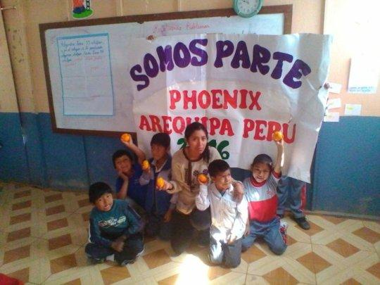 Local teacher Maricruz