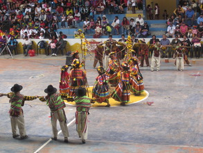 Cultural dance competition