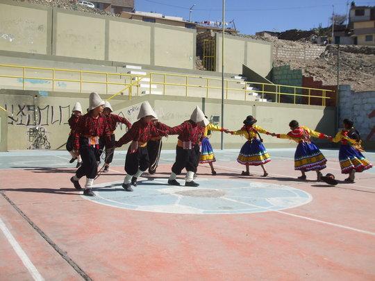 Traditional dance in Peru