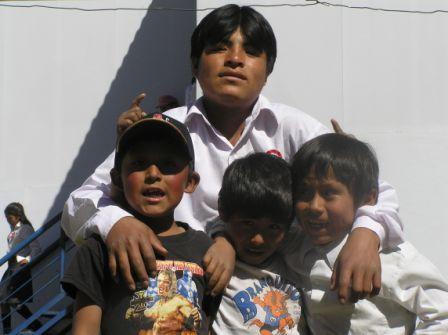 Family in school