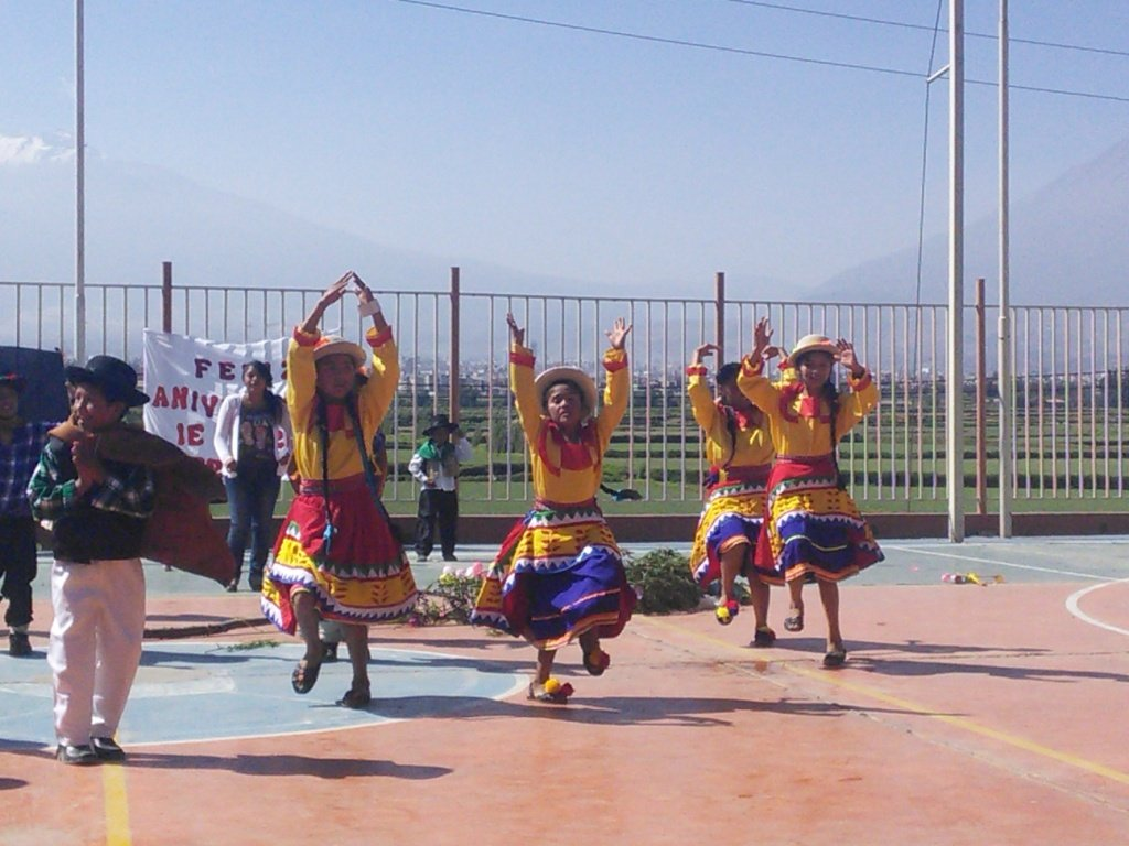Traditional folkloric dance