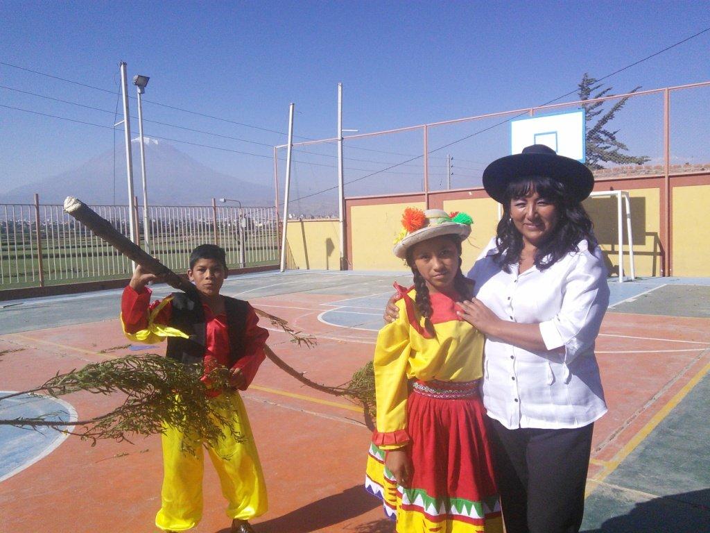One of our local teachers, Ediluz
