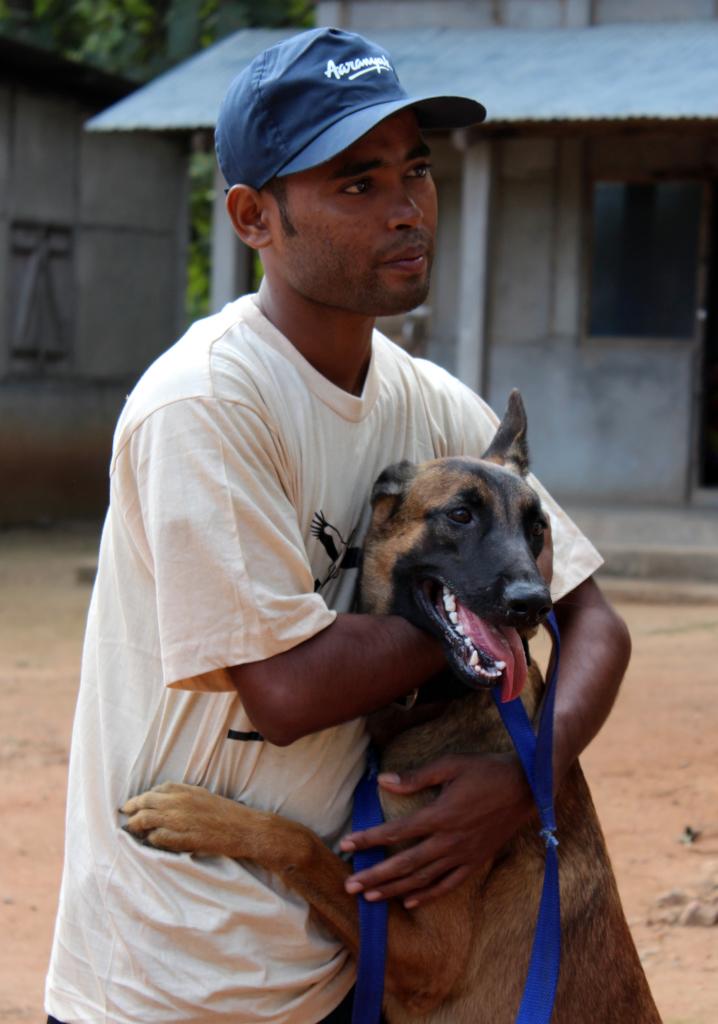 Anti-poaching Dog Squad. Image Credit: Aaranyak