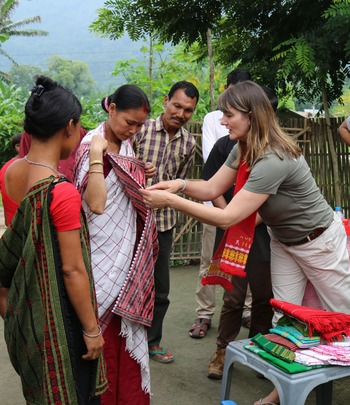 Meeting the weaving cooperative