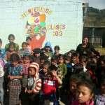 Welcoming the new children