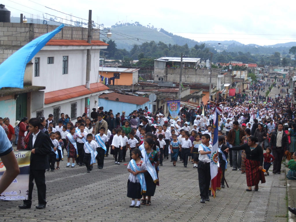 Independence Day band in Itzapa
