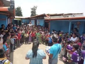 School in Itzapa!