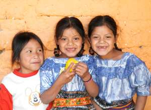Fruit for the children in Guatemala