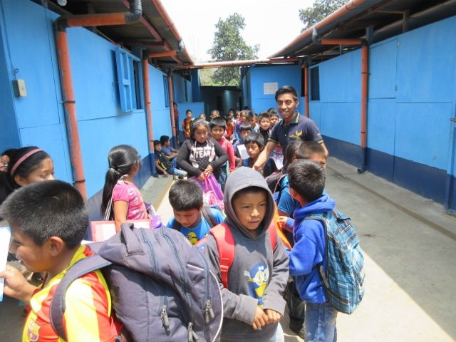 Education & food for 600 children in Guatemala