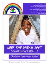Keep The Dream196 Annual Report (PDF)