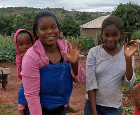Happy Faces on our Door to Door Campaign!