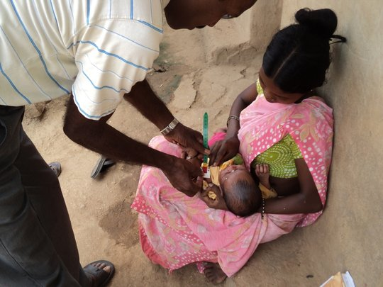 Support immunization of 42971 children in India