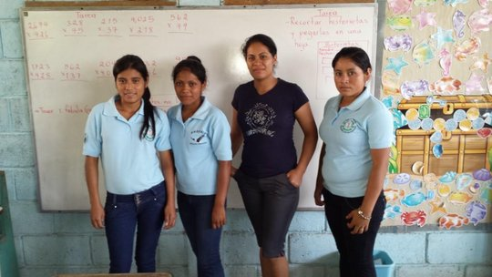 Four of our assistant local teachers