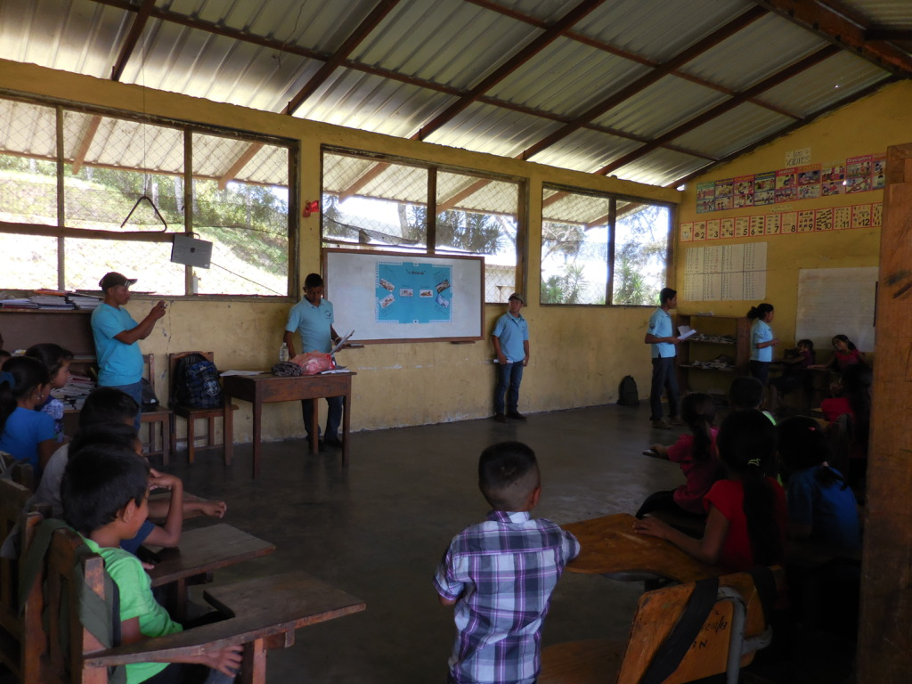Our students teaching in other communities