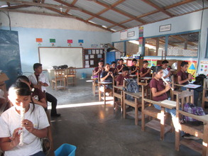 Music classes in the secondary school
