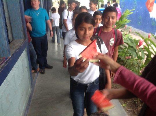 Education & nutrition for 166 children in Honduras
