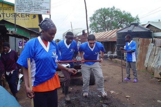 Recycling 2,000 Tons of Trash in Kibera