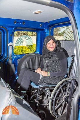 1st accessible Alhassan Foundation cars 2