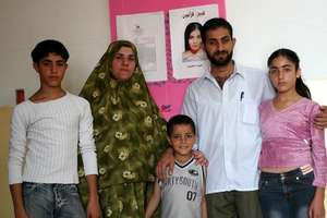 Abir's father, mother, sister and brothers