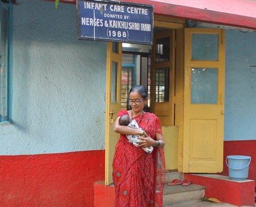 Ms. Jayshree Gadapa with baby Mary