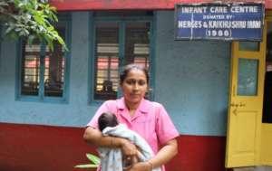 One of the dedicated Nurses of Bal Asha