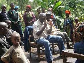 Meeting the displaced of Kibabi