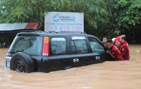 Flooding at M'Lop Tapang