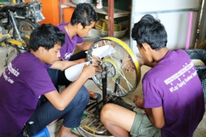 Vocational training programs for older youth