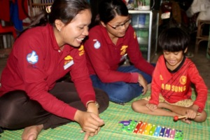 Working with children in their homes
