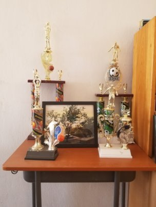 The Children's Basketball Trophies