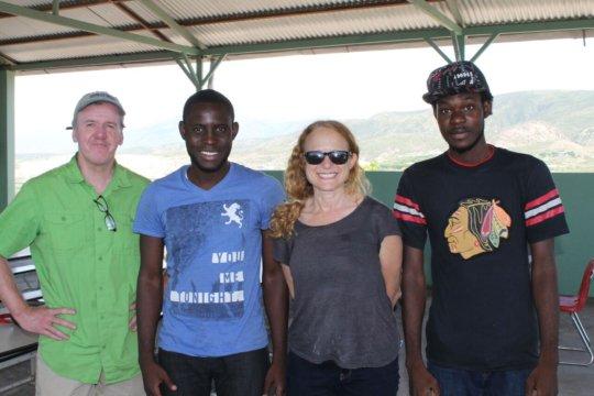Neil, Emmanuel, Lee and Wendell
