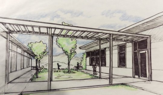 Rendering of the Clinic