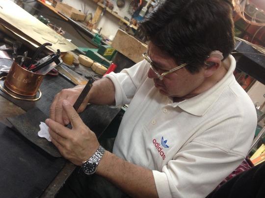 Jose Luis Makes a Bracelet