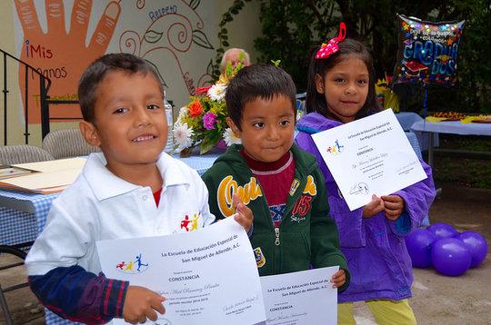 Proud Pre-schoolers Graduate to Kindergarten